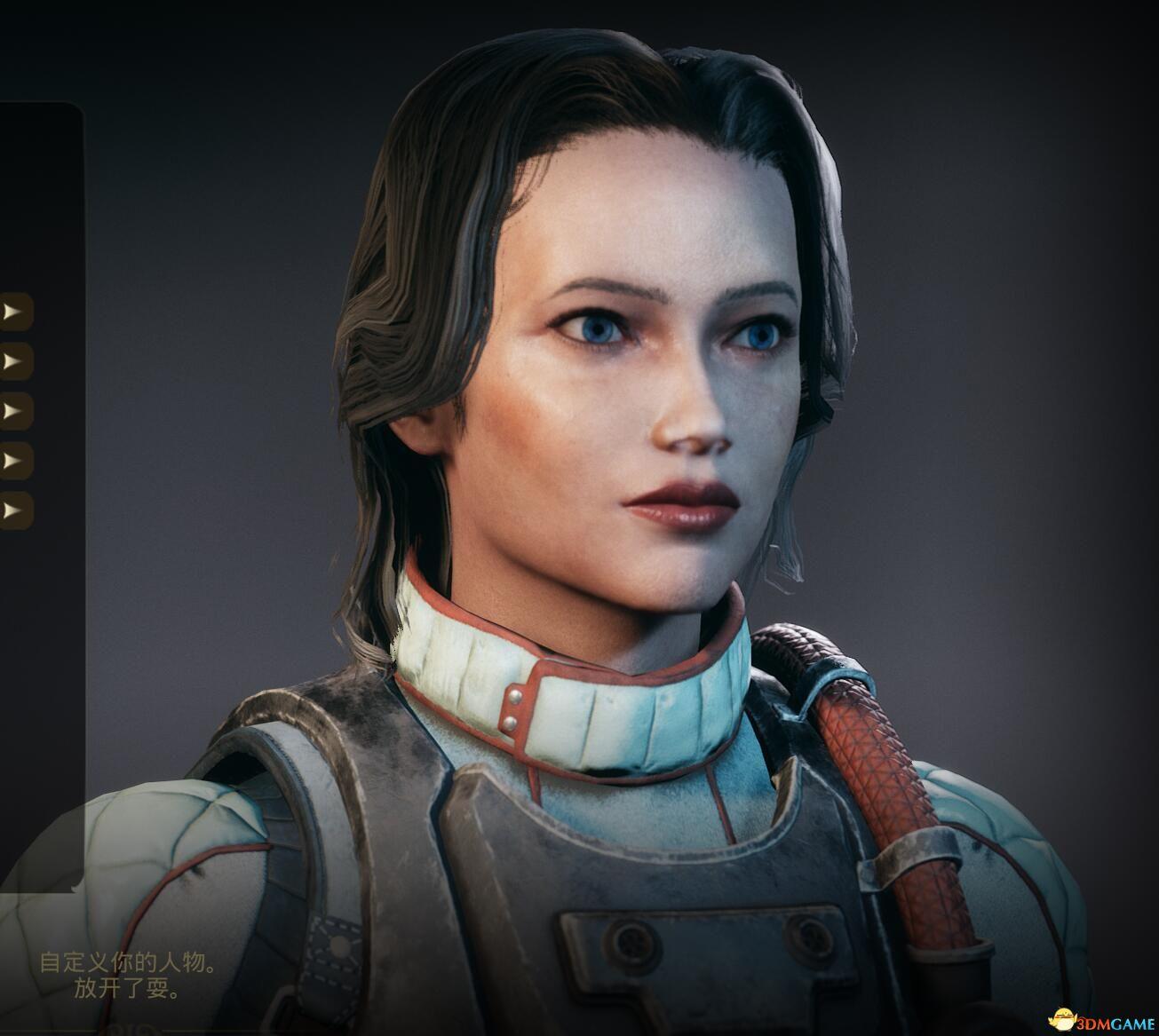 《天外世界》银发女骑士脸捏脸数据分享