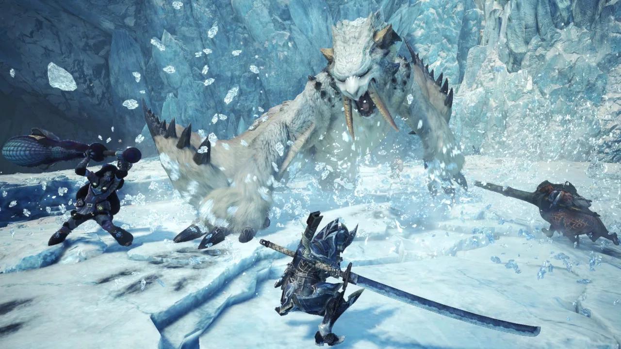 冰原之后还有内容 《怪物猎人:世界》PC版开发路线图
