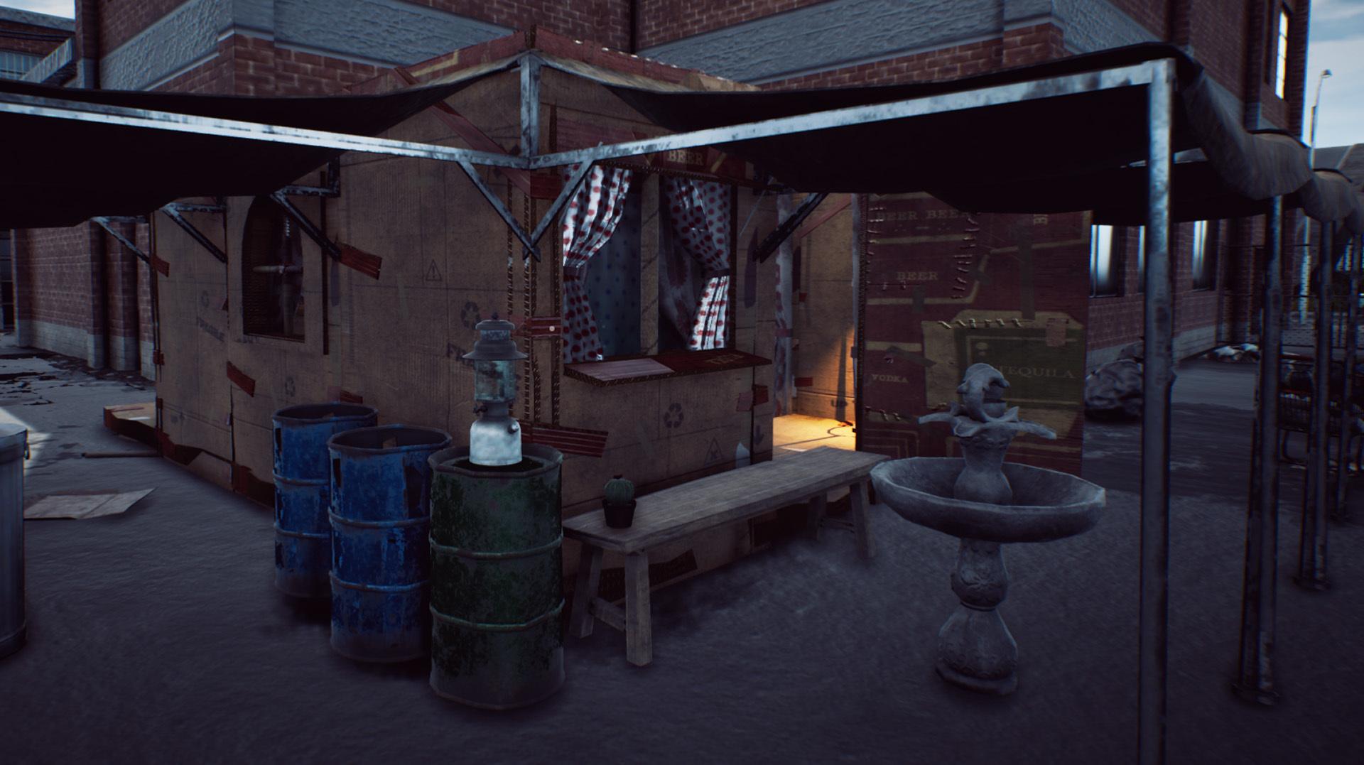 开放世界乞讨之旅 《流浪汉模拟器》开发中画面小汇总