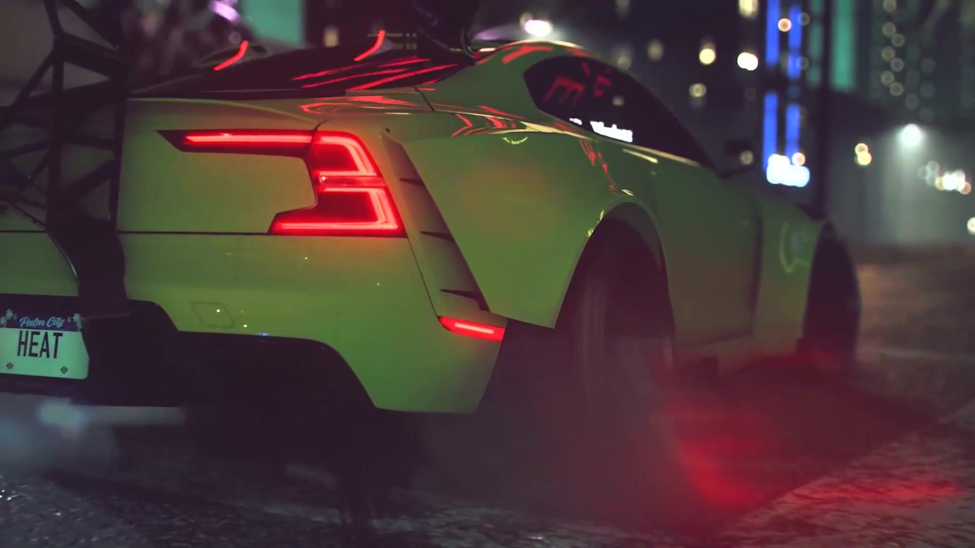 《极品飞车21:热度》中文版发售宣传片 街头狂飙启动
