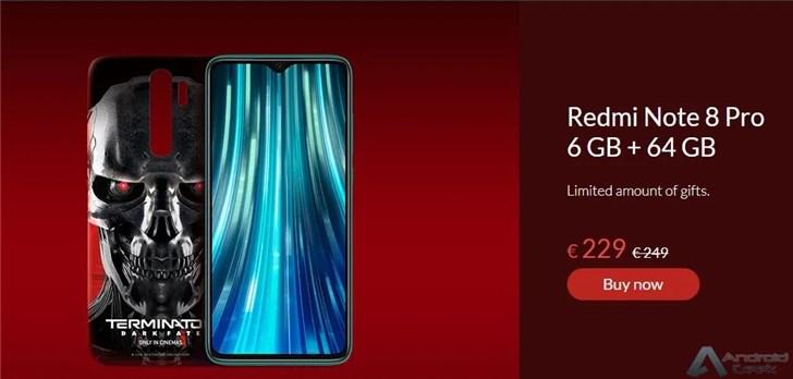 """红米Note 8 Pro将推""""终结者""""定制版 售价约1800元"""