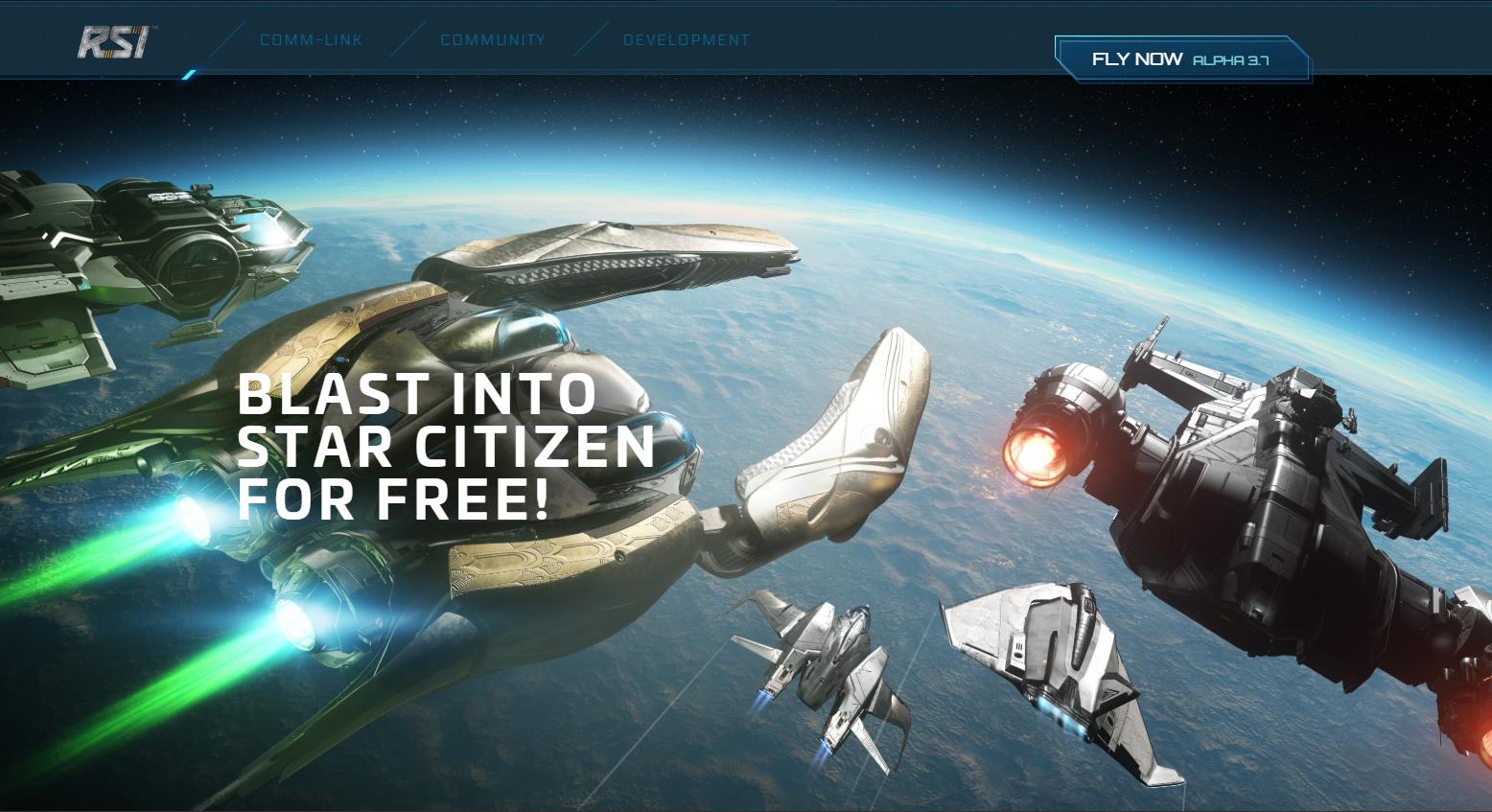 喜迎Alpha3.7版本 《星际公民》本周免费试玩开启