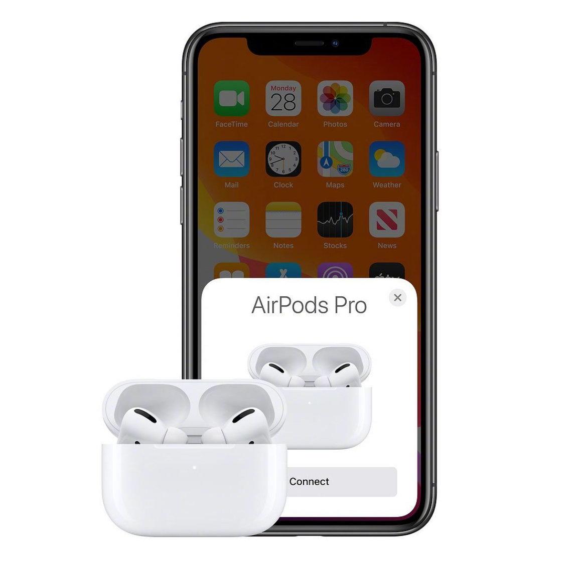 苹果正式发布AirPods Pro:售价1999元 支持降噪