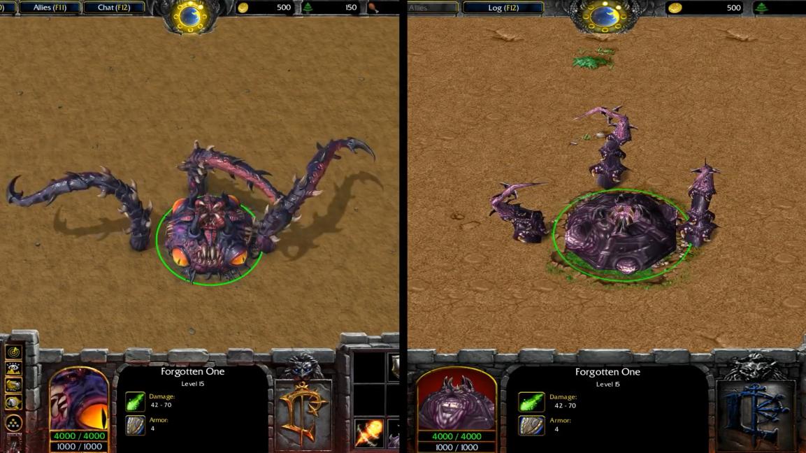 潮汐头顶大章鱼 《魔兽争霸3:重制版》中立生物对比Part2