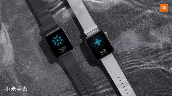 雷军晒小米手表实拍图:外观类似Apple Watch