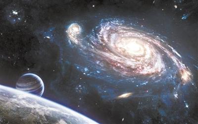 """研究显示:为了孕育恒星 银河系正在""""变胖"""""""