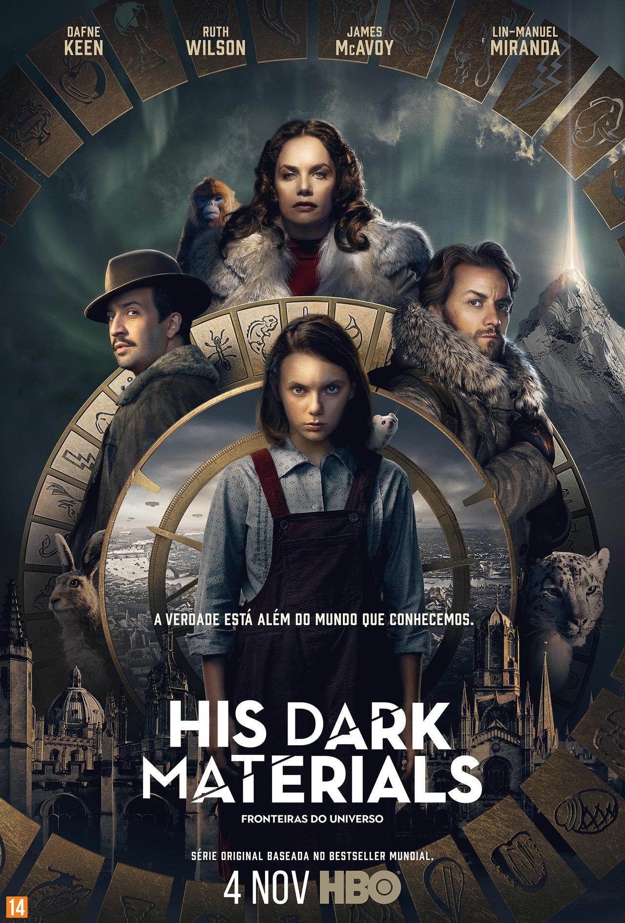 史上最贵英剧《黑暗物质》新照 一美和小狼女登场