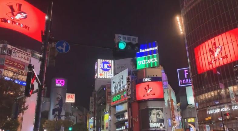 """""""心之怪盗团""""夜袭涩谷!主角庆贺《P5R》日版发售"""