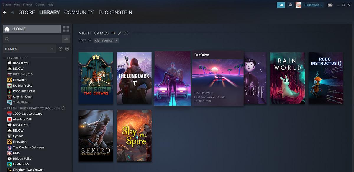Steam新版游戏库现已正式推出 远程同乐也已向所有用户开放