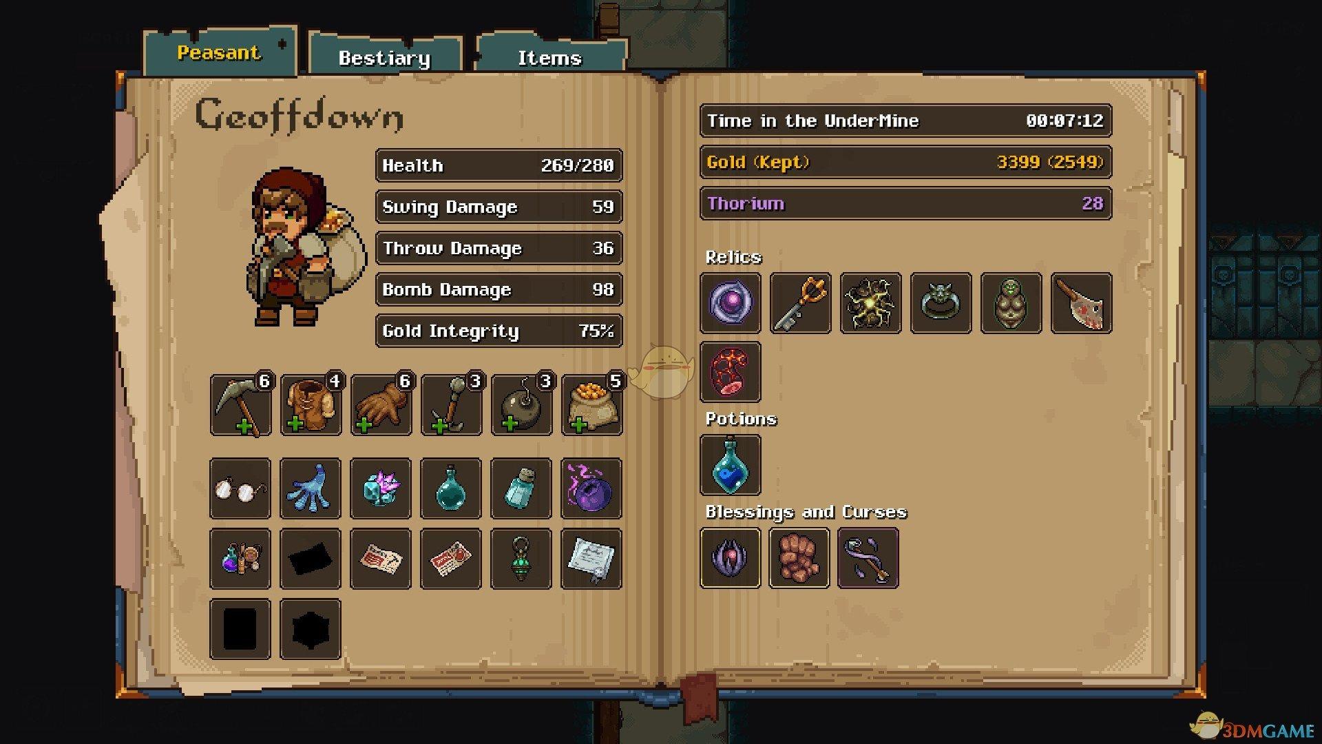 《矿坑之下》冒险家的帽子属性效果一览