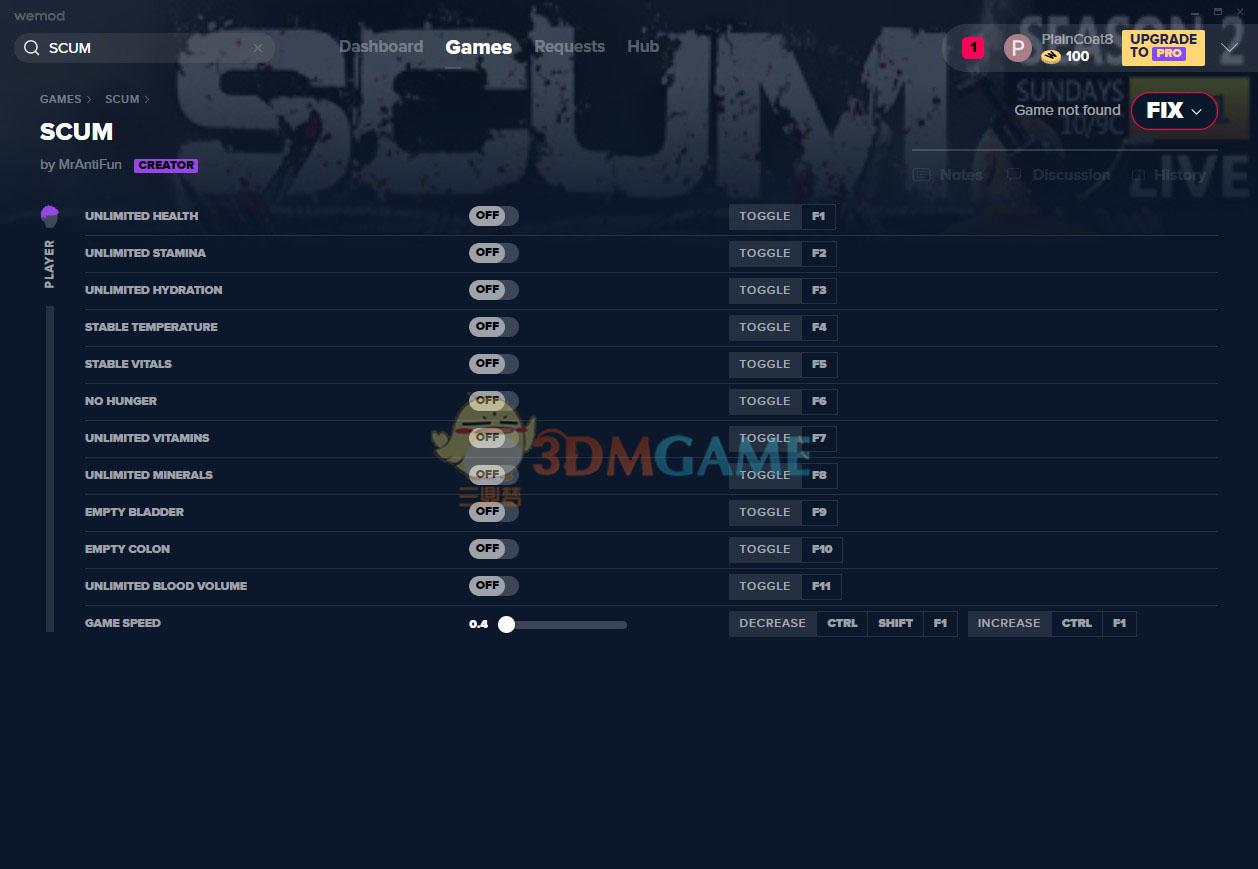 《人渣》v2020.05.09十二项修改器[MrAntiFun][Steam]