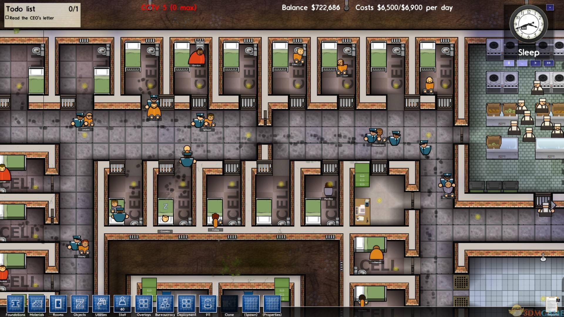 《监狱建筑师》释放囚犯方法介绍