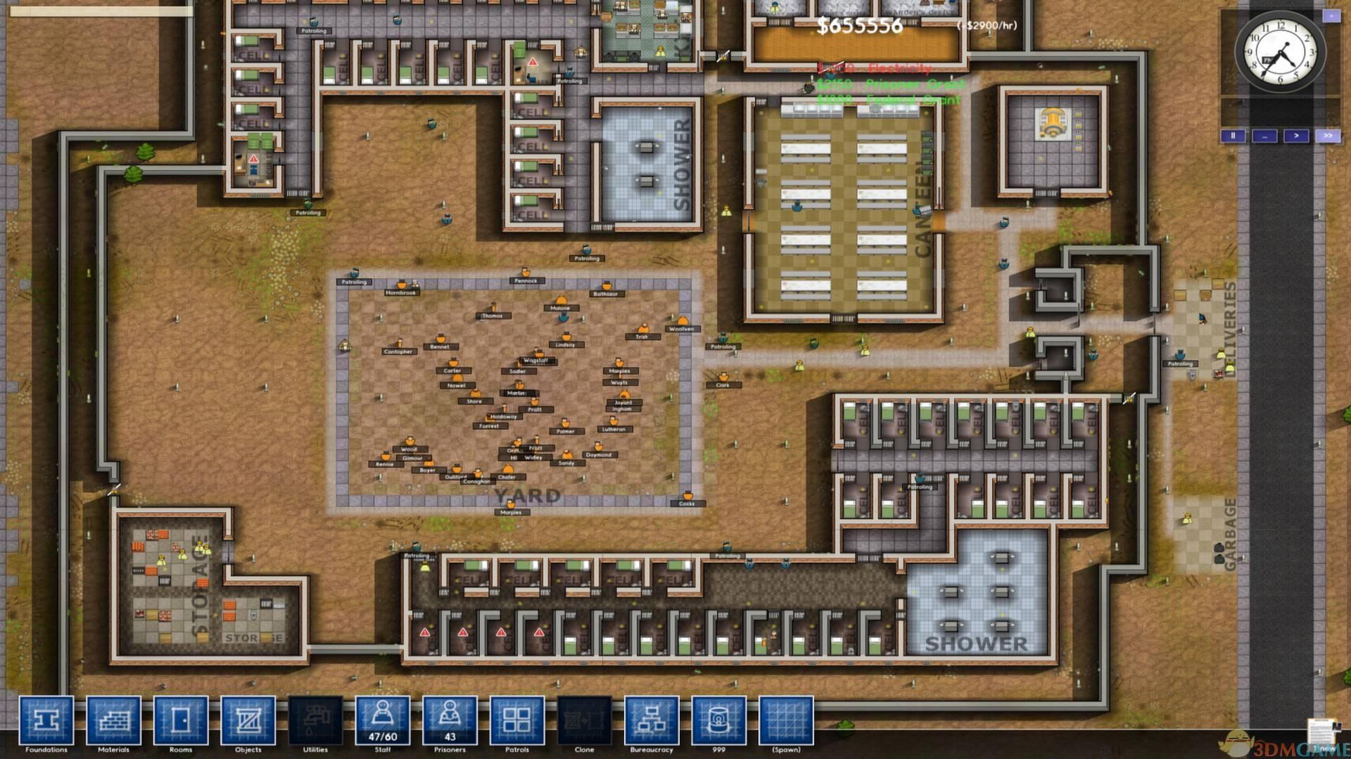 《监狱建筑师》让犯人暴动方法介绍