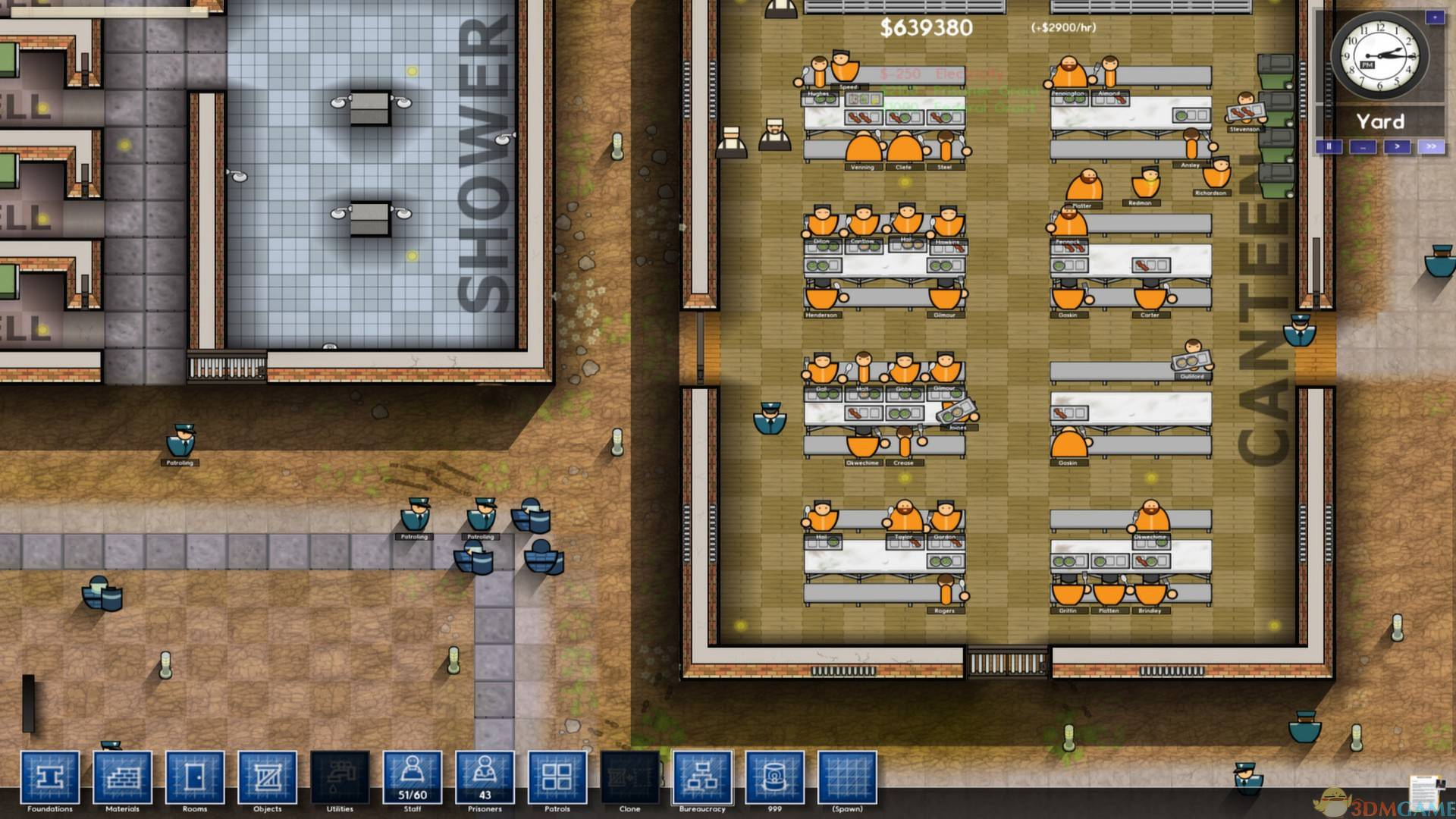《监狱建筑师》让犯人上课方法介绍
