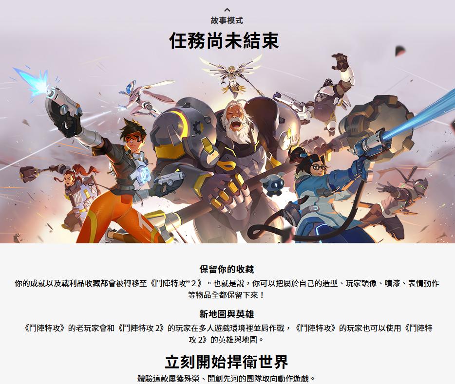 暴雪嘉年华: 《守望先锋2》 中文官网正式公开