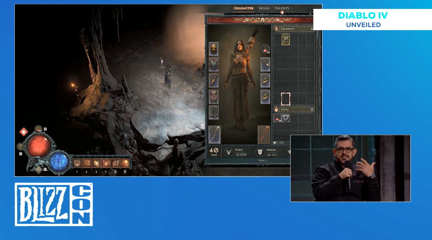 暴雪嘉年华2019:《暗黑4》更多细节曝光 开放世界、天赋树系统