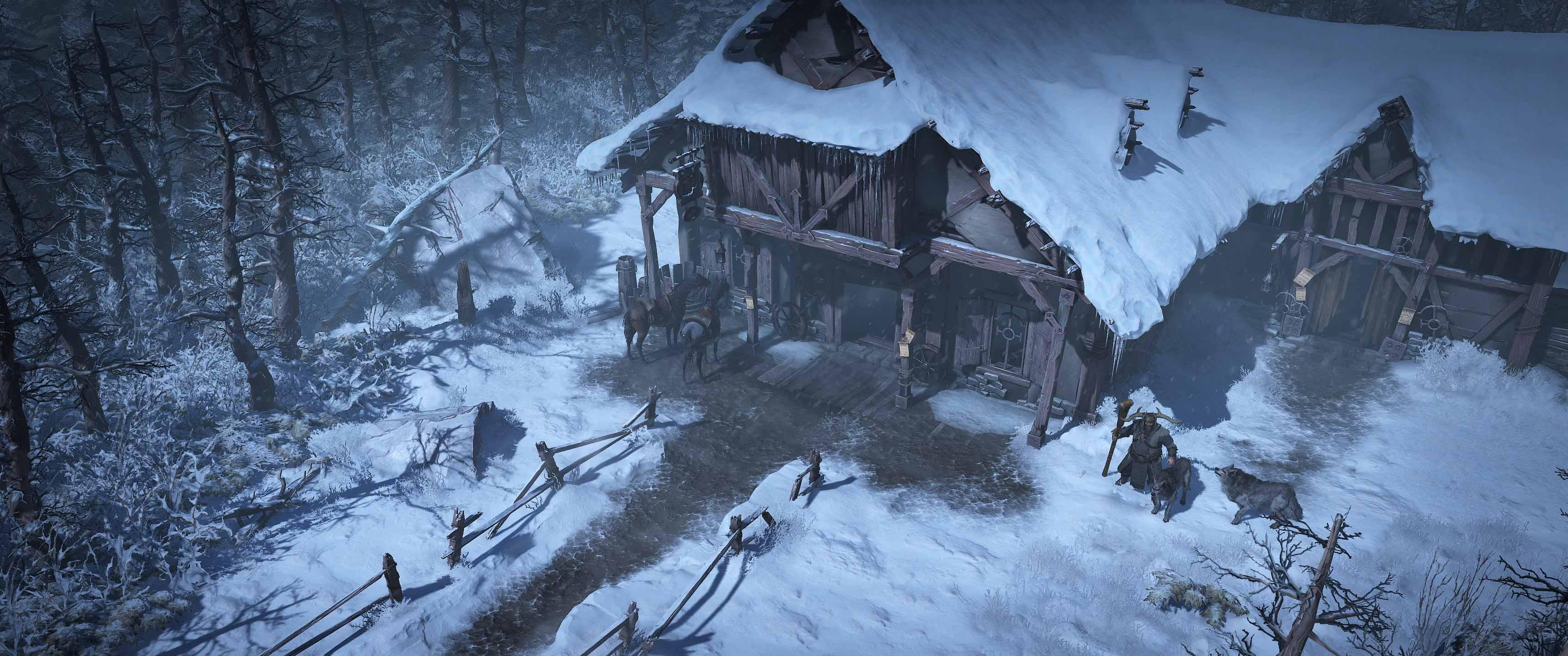 暴雪嘉年华:《暗黑4》首批高清截图 画质大幅度进化