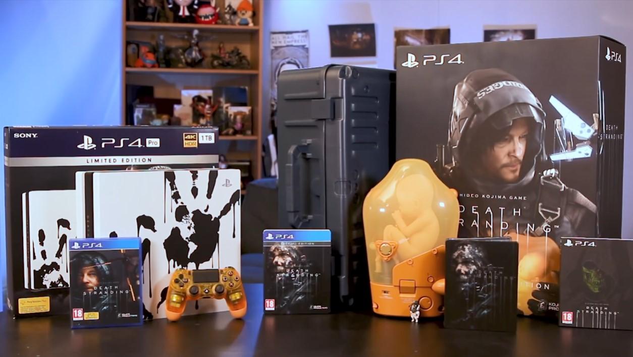 真香!《死亡搁浅》典藏版及限定PS4 Pro开箱