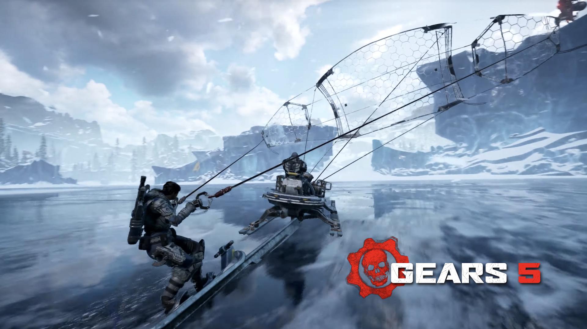 《战争机器》后续将继续发挥玩家选项和开放世界