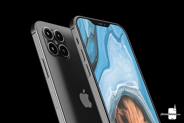 iPhone4后最期待!iPhone 12外形曝光:首上四摄、刘海变小
