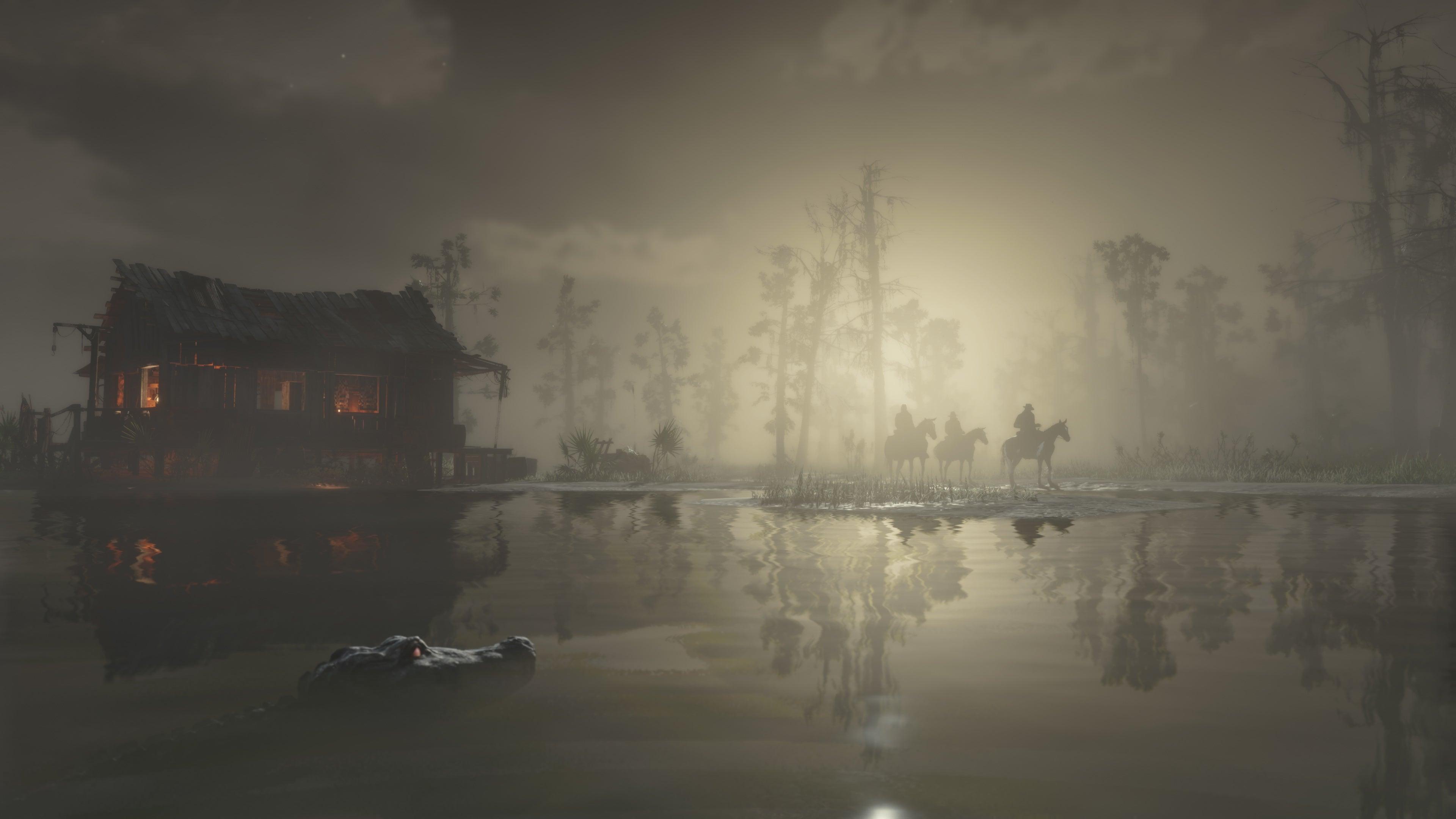 《荒野大镖客2》PC版17张新截图 4K分辨率