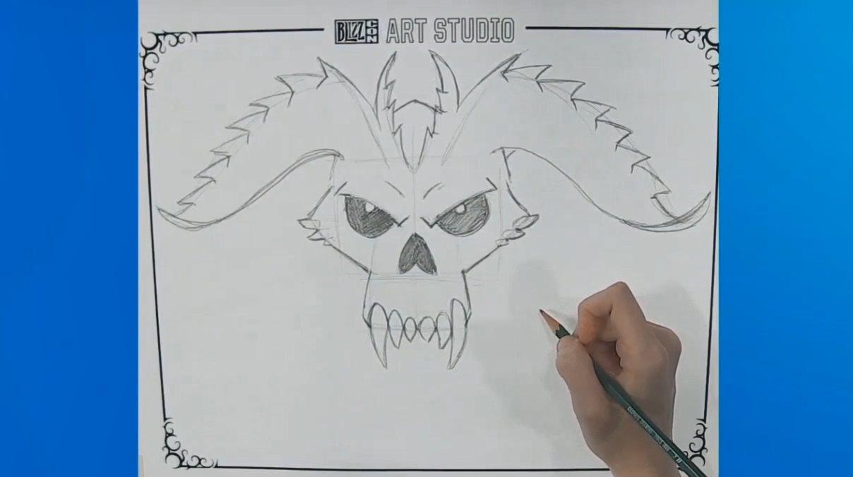 暴雪嘉年华:画师手把手教学 暴雪教你画游戏人物