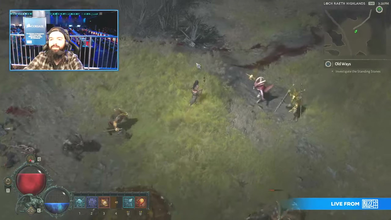 暴雪嘉年华2019:《暗黑4》PC版试玩初体验 感受黑暗恐惧与迎战恶魔
