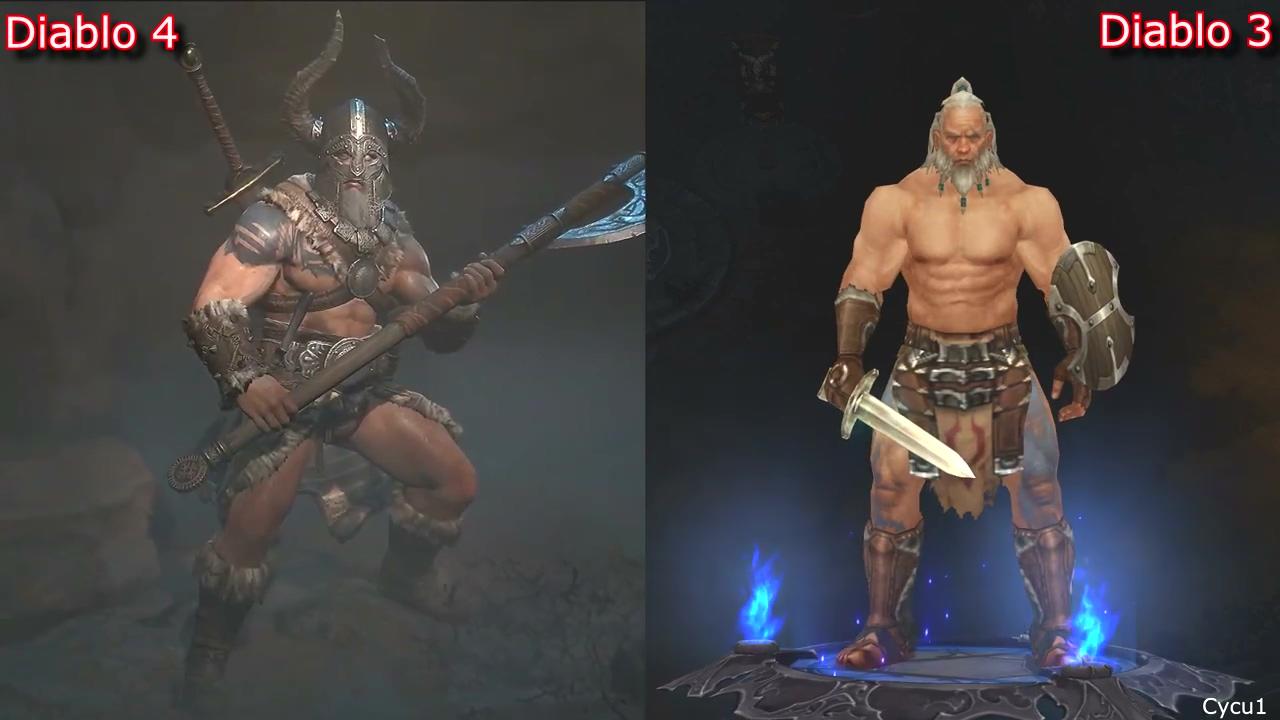 风格迥异!《暗黑4》和《暗黑3》角色职业对比