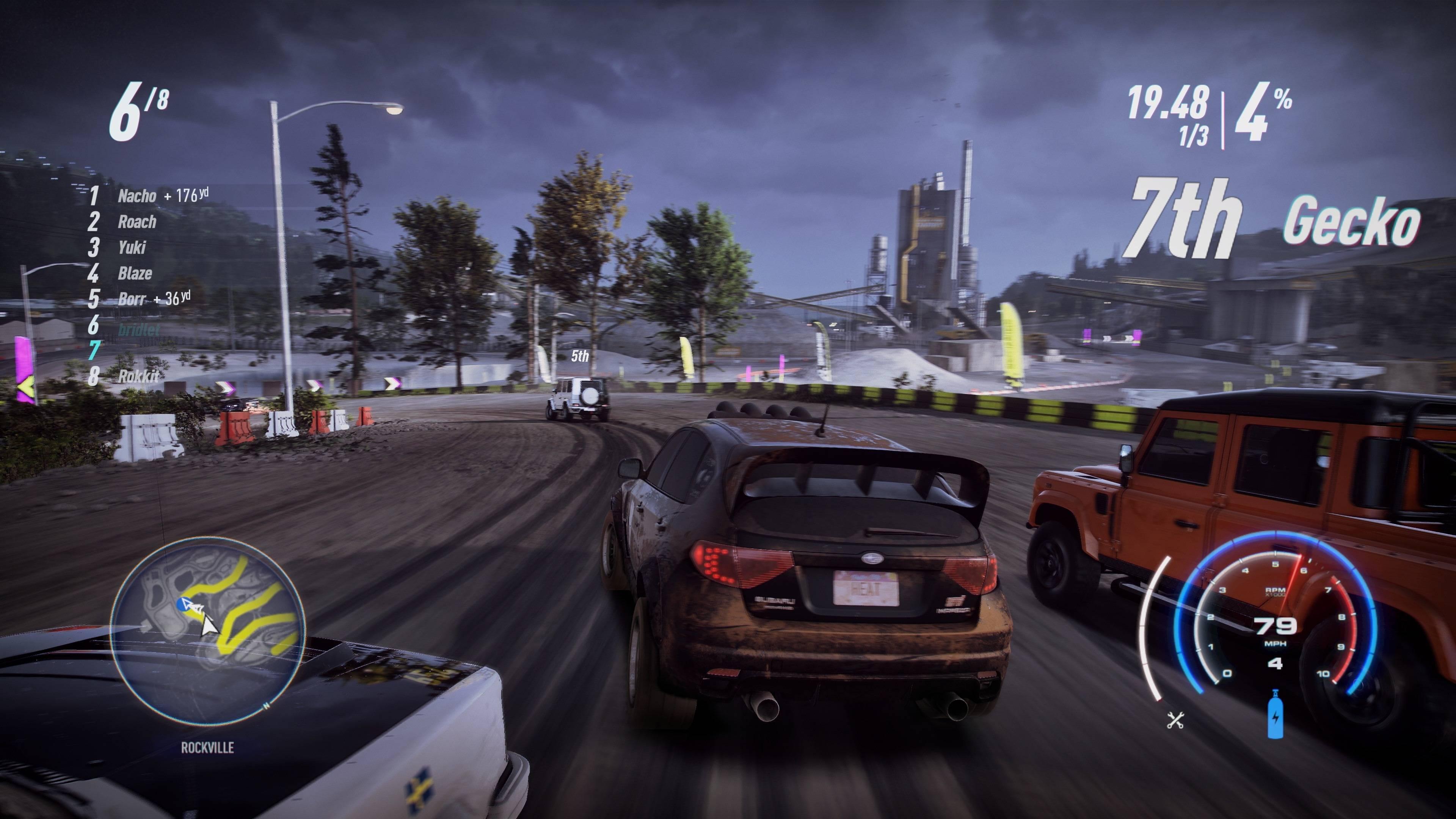 《极品飞车21:热度》全新4K高清截图展示