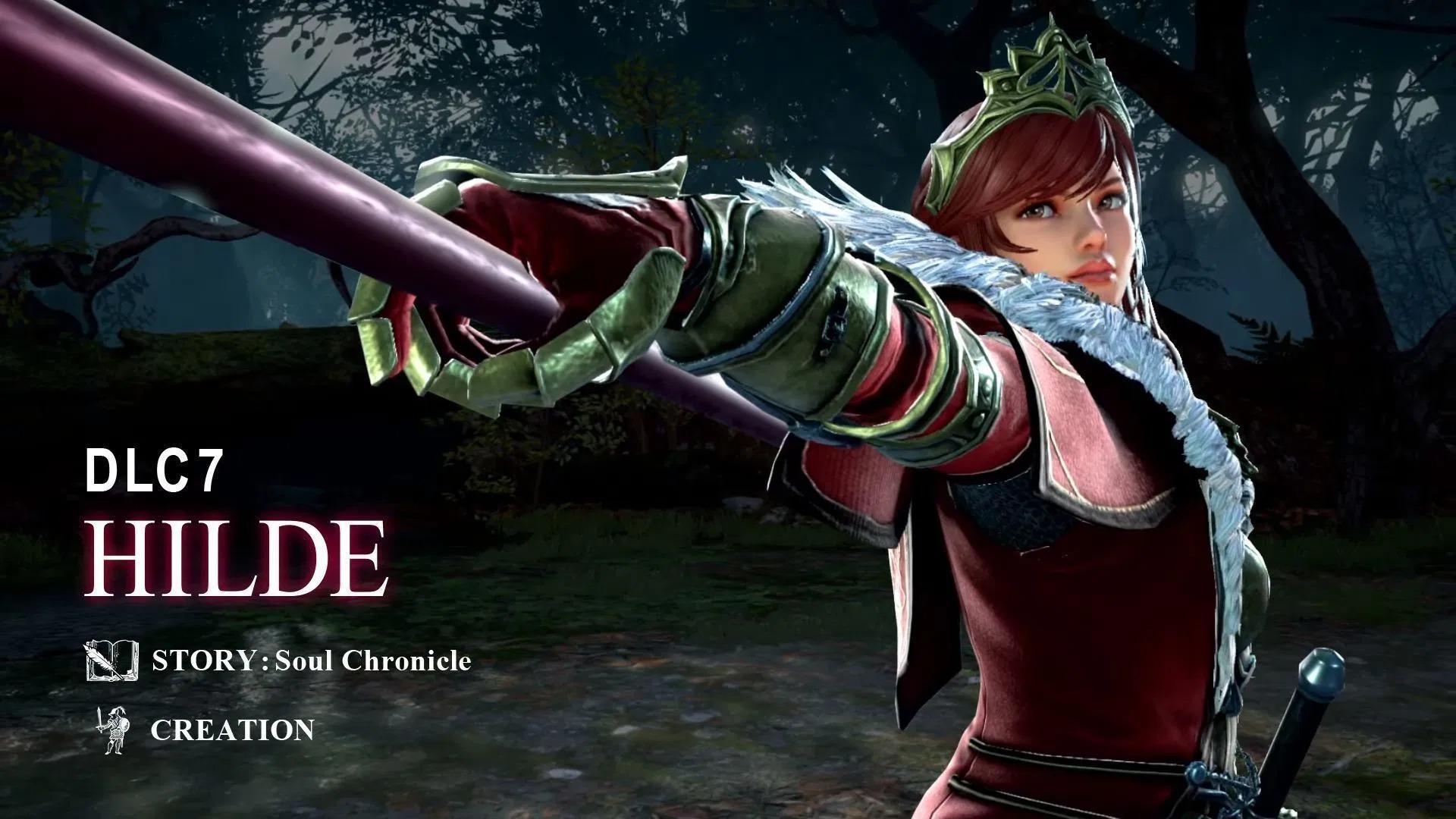 《灵魂能力6》公布希尔德为首个第二季DLC角色