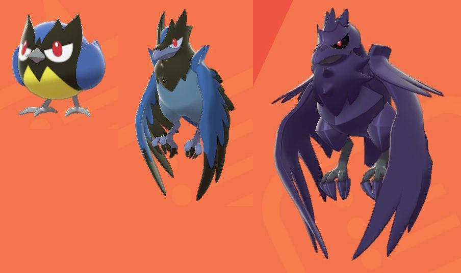 《宝可梦:剑/盾》更多宝可梦形象 彩虹小马进化体