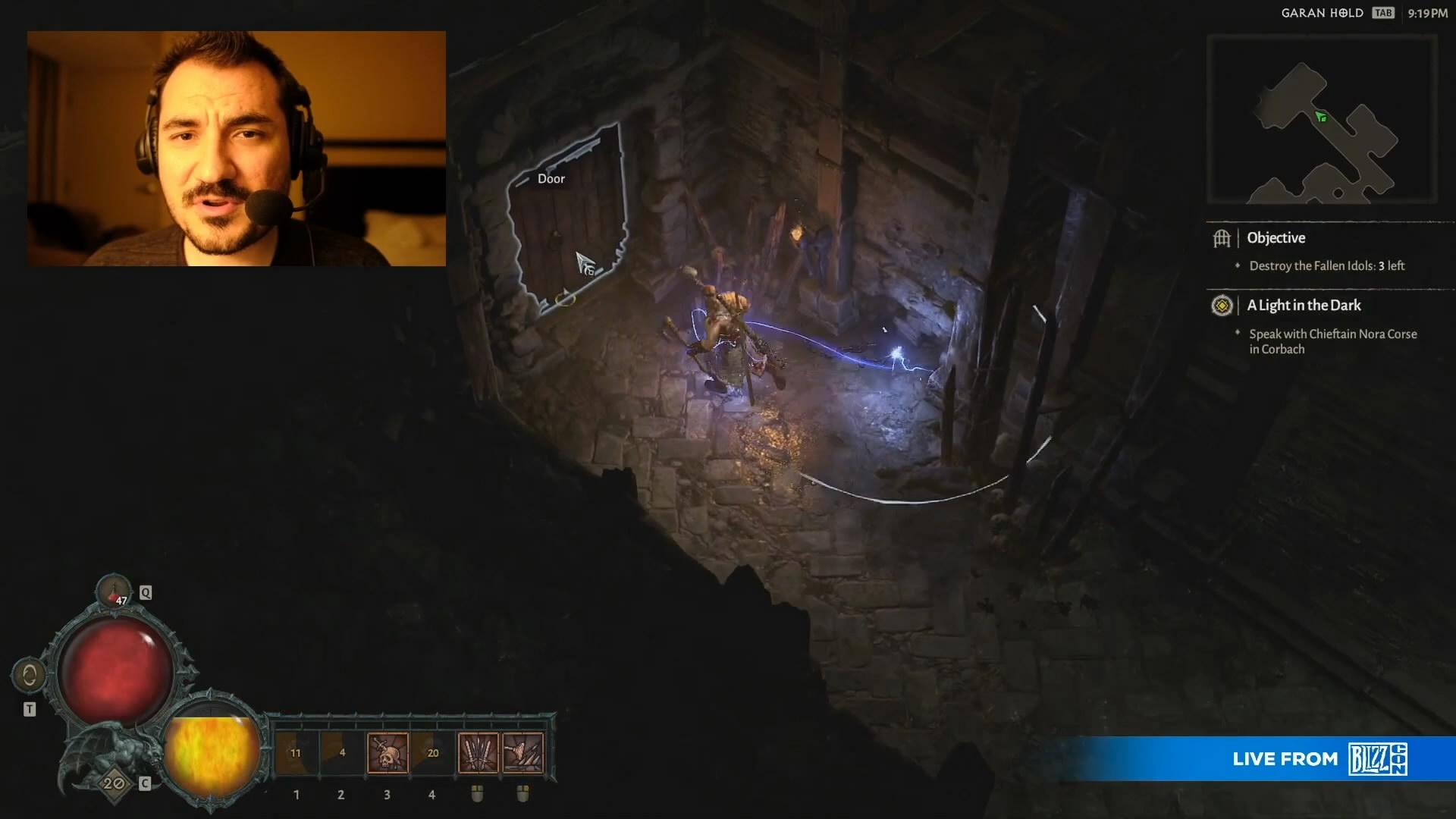 《暗黑4》野蛮人/德鲁伊试玩视频 游戏性和画面真棒