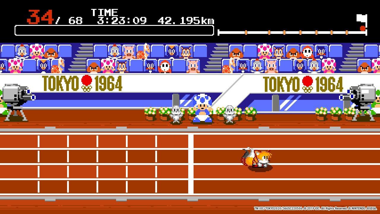 《马里奥与索尼克在东京奥运》评测:一个人也能玩的聚会游戏