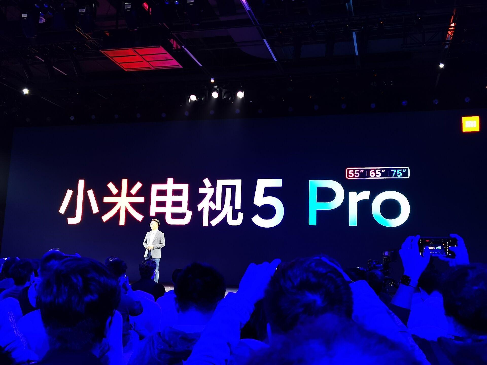 小米电视5系列正式发布:4K量子点屏幕 最贵9999元