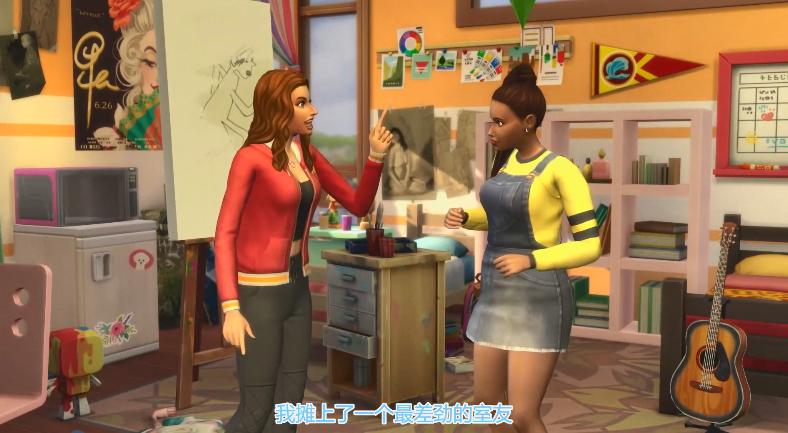 玩家可玩转大学!《模拟人生4》DLC中文预告公开