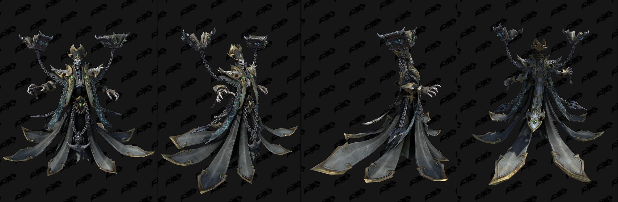 《魔兽争霸3:重制版》不死族模型 女死亡骑士登场