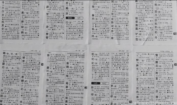 1亿像素能装下多少字?小米CC9 Pro挑战拍《新华字典》