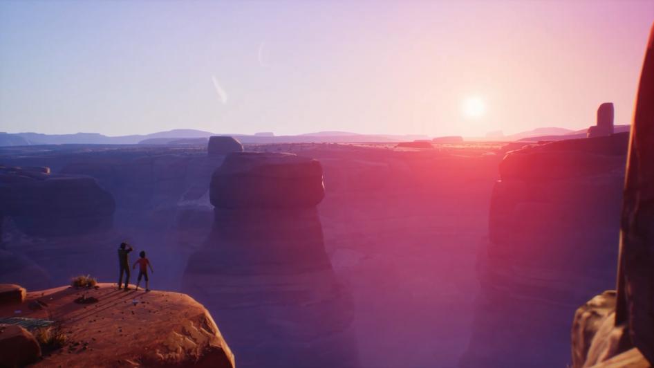 《奇异人生2》最终章宣传片 两兄弟相拥于悬崖之上