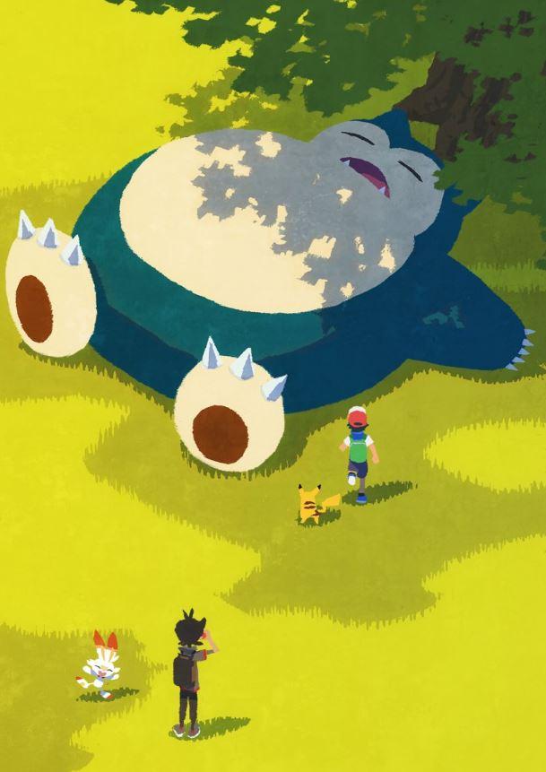 《宝可梦》新动画3张艺术图公开 炎兔儿俏皮可爱