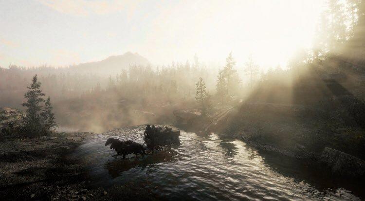 《荒野大镖客2》PC版照相模式截图 精美绝伦惊艳无比