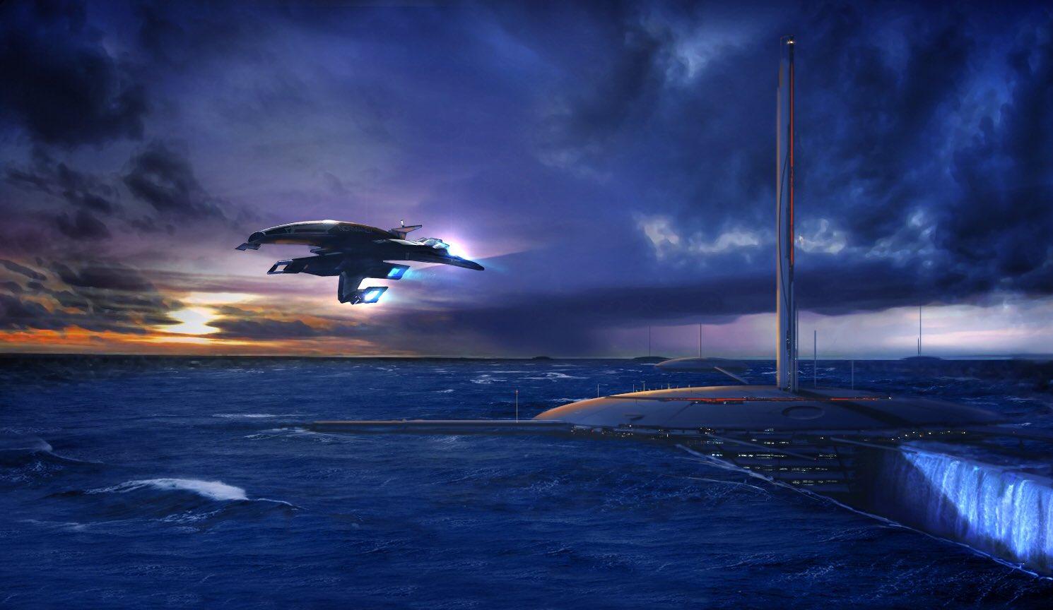 《质量效应》全新概念图曝光 BioWare表示这个系列还有很大的创作空间
