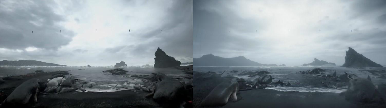 弩哥更逼真了!《死亡搁浅》之前预告 vs 实际游戏画面