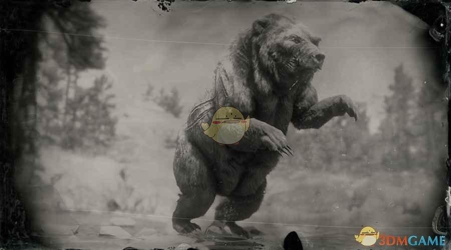 《荒野大镖客2》传说大灰熊巴拉蒂图鉴一览