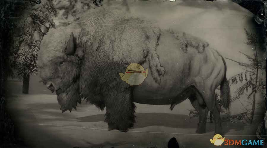 《荒野大镖客2》传说白野牛图鉴一览