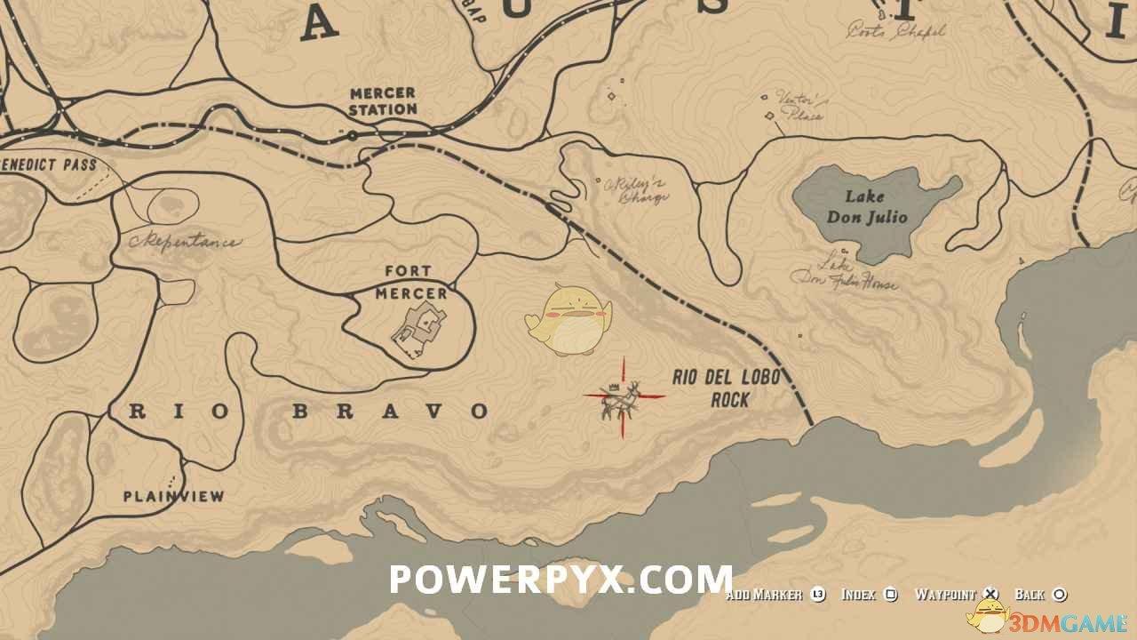 《荒野大镖客2》传说叉角羚图鉴一览