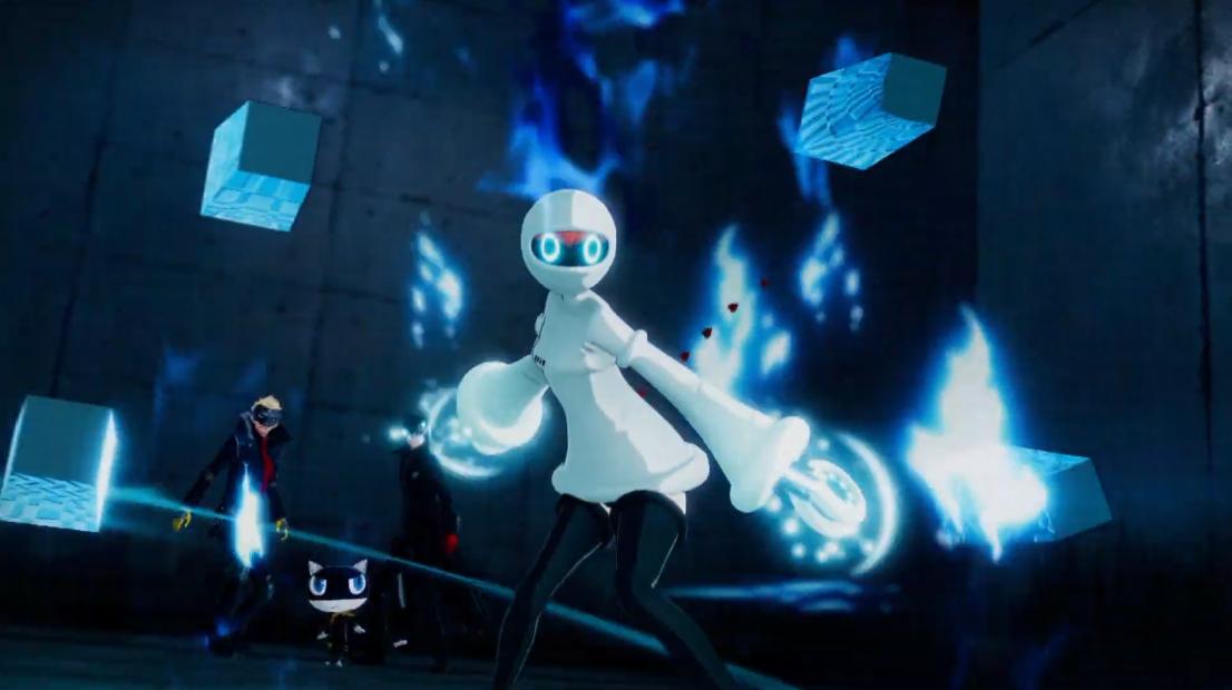 《女神异闻录5S》索菲娅介绍片公开 竟然是个AI少女