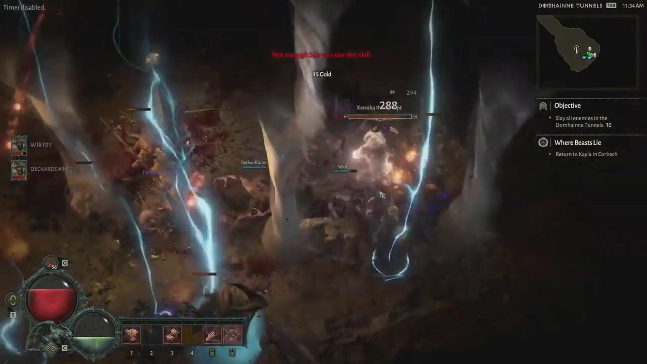 《暗黑破坏神4》德鲁伊20分钟实机试玩视频展示
