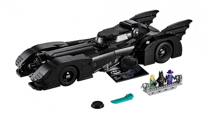 250美刀 乐高推出3300片积木组成的乐高蝙蝠车
