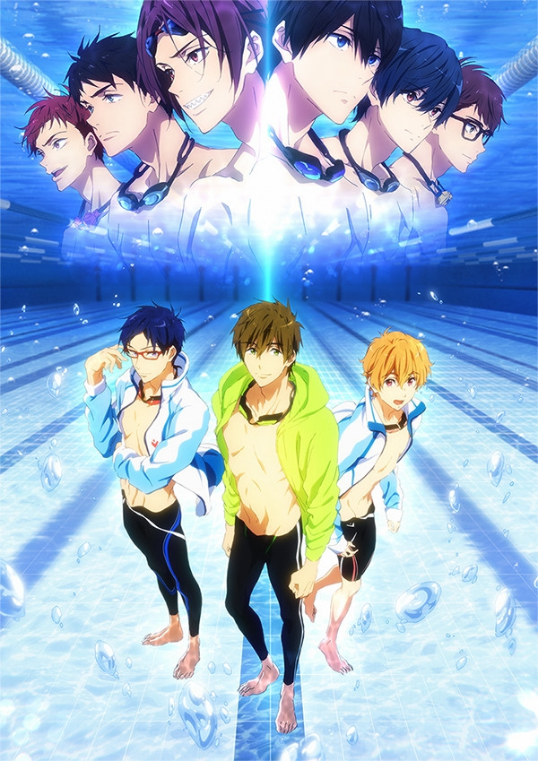 京阿尼游泳番名作《Free!》剧场版确定延期 或21年上映