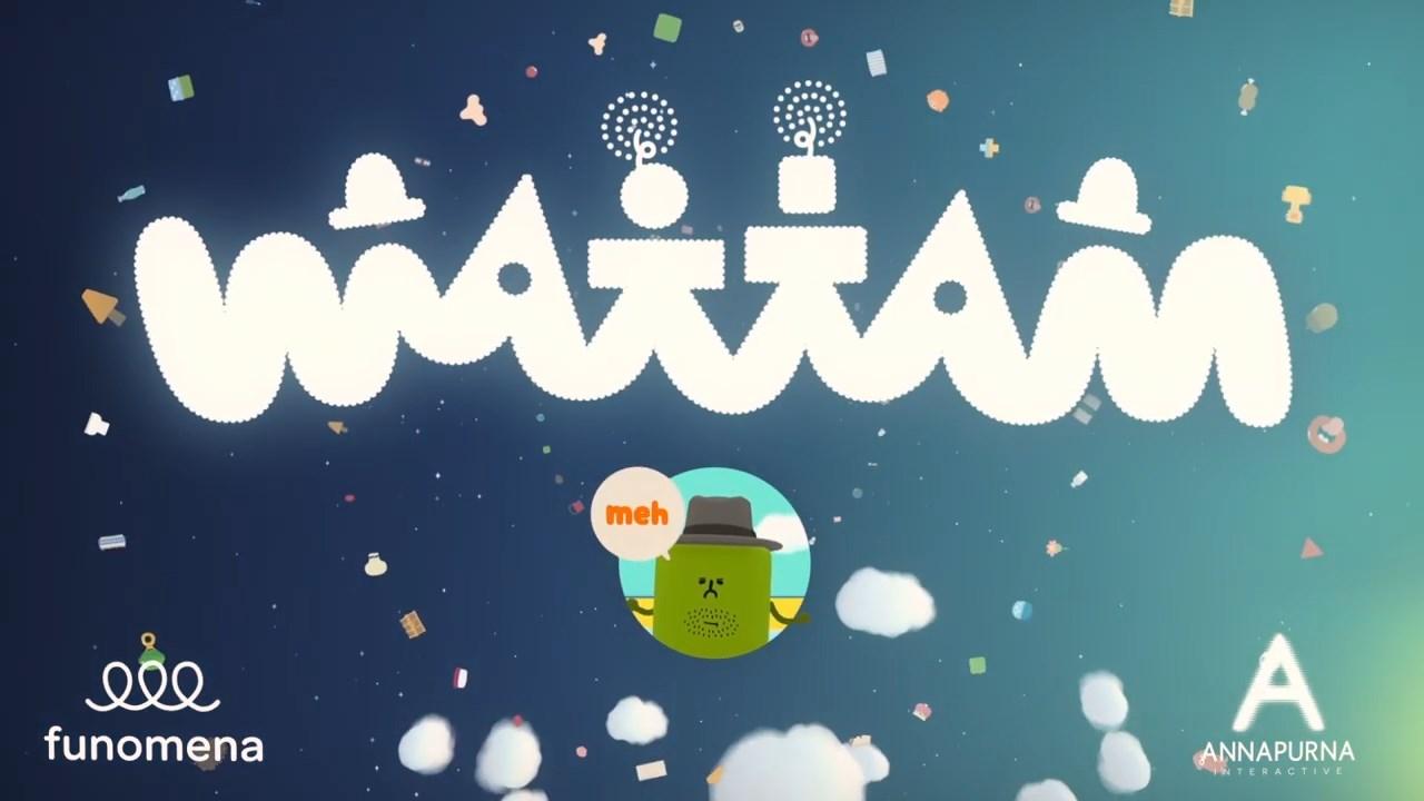 块魂制作人创意新作《Wattam》发售日确定 12.17日登PS4/PC